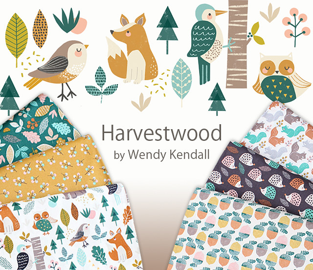 Dashwood Studio Harvestwood Collection by Wendy Kendall