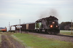 Spring Rock Train at Becker