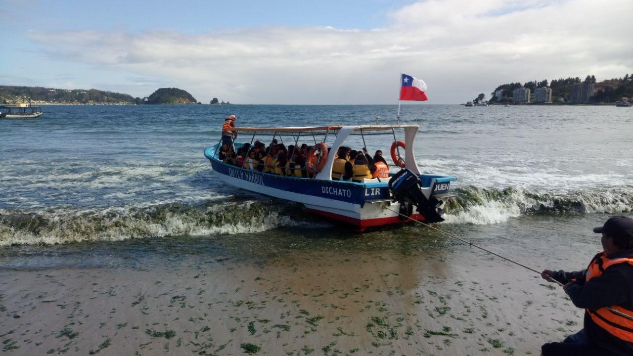 Dichato: Paseo con Hermanos de Iglesia de Sagrada Familia