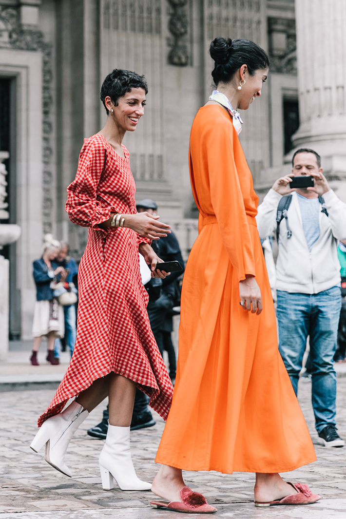 Paris fashion week street style trend style outfit 2017 accessories PFW3