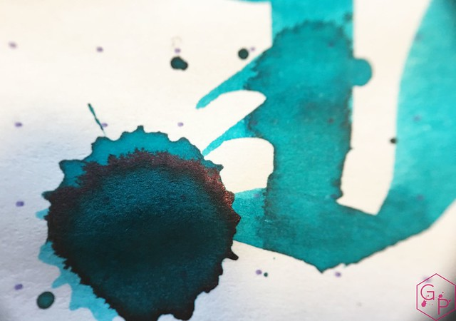 Ink Shot Review Kobe Ink #48 Marchais Blue @GoldspotPens 11