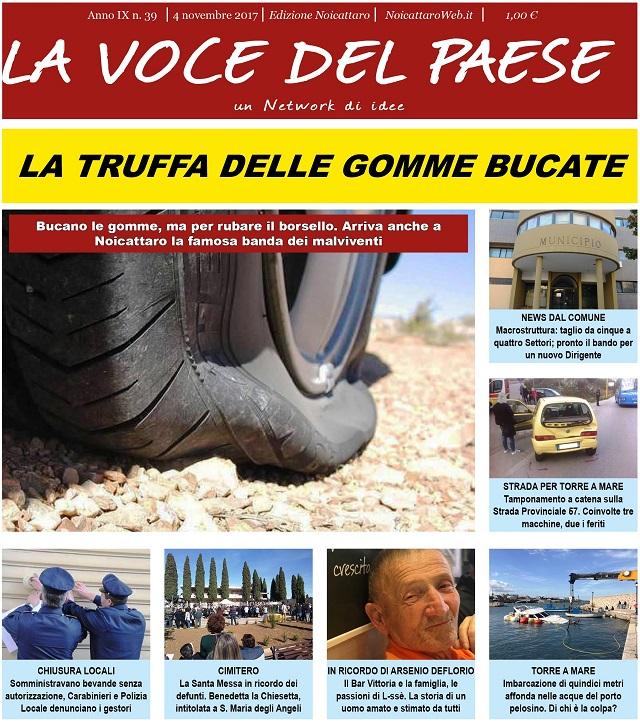 Noicattaro. Prima pagina n. 39-2017 intero