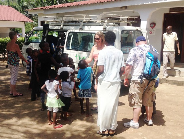 Karibu, Sheila, Angela & Jason