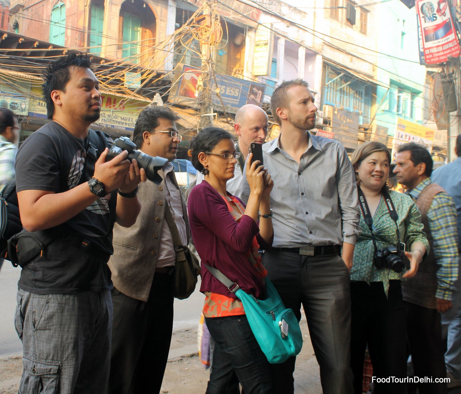 Some street photography in Old Delhi