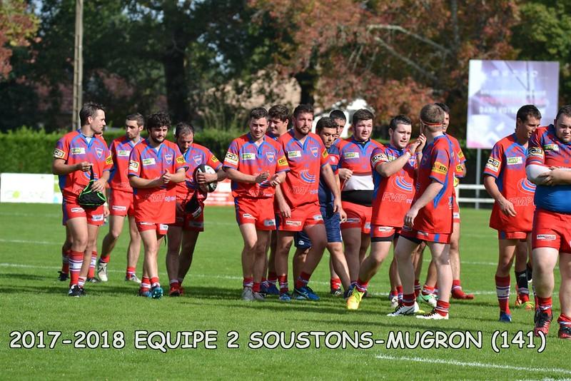 2017-2018 SENIORS 2 SOUSTONS - MUGRON