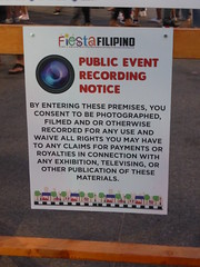 Public Event Recording Notice