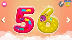 ABC Phonics Writing for Kids – Learn to Write and Count Numbers 41 to 60  for Children