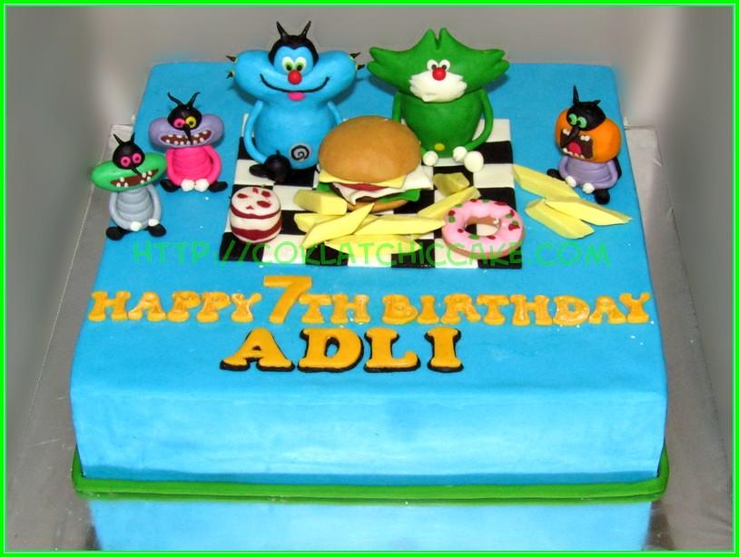 cake Oggy  ADLI