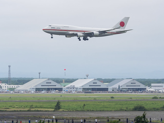 JASDF Chitose AB Airshow 2017 (24) Japanese Air Force One / 20-1101