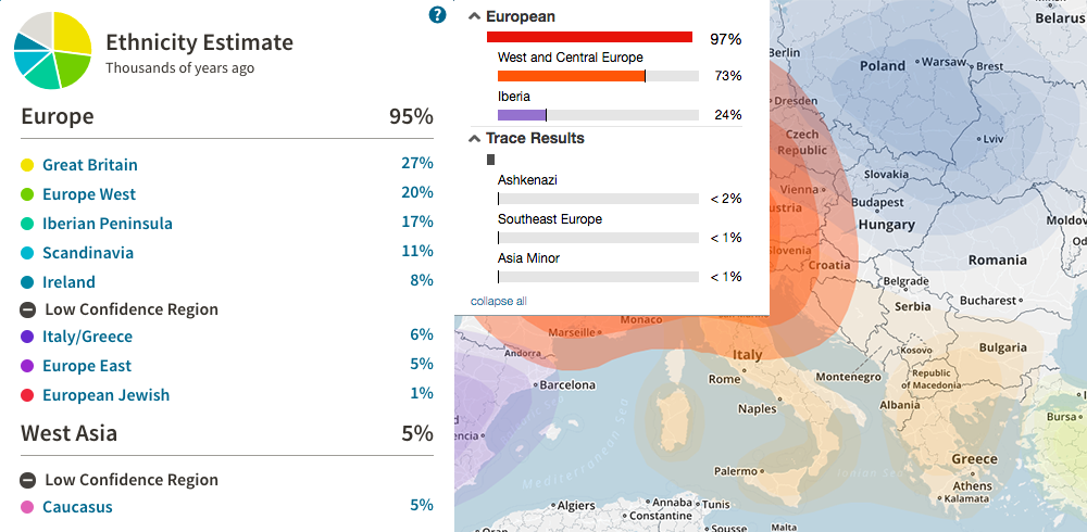 Living DNA - My German (PA Dutch) Father's results [Archive