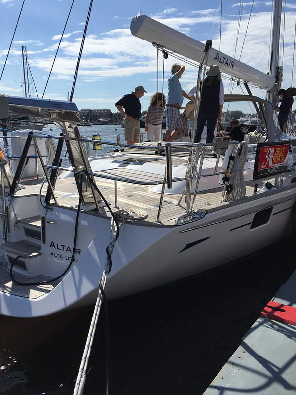Annapolis 2015 Boat Show day 1