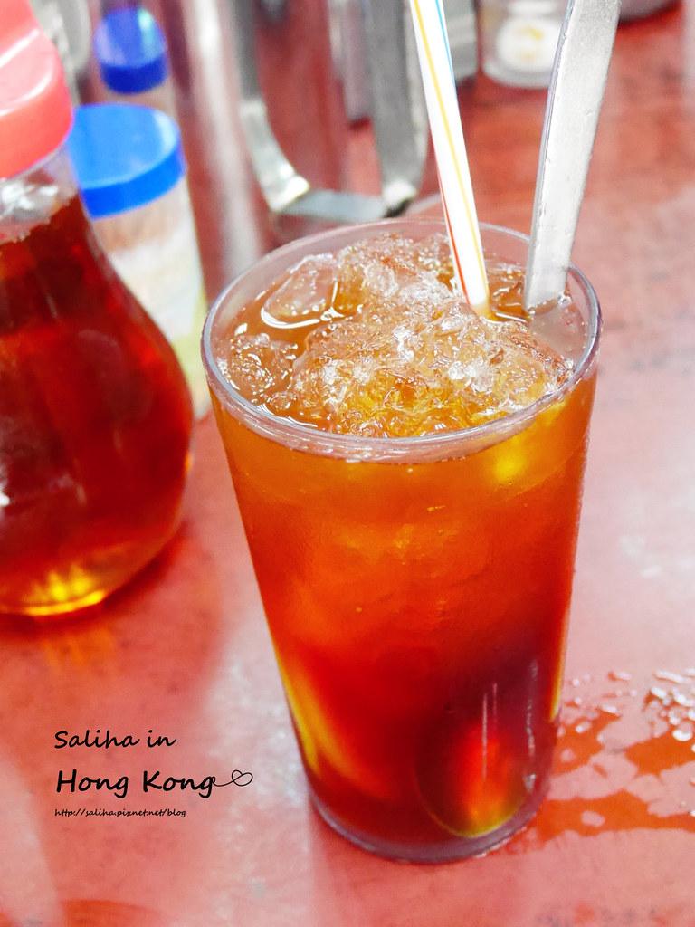 香港必吃深水埗維記咖啡粉麵豬潤公仔麵 (1)