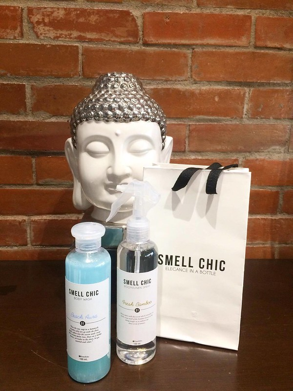 Smell Chic products GIVEAWAY