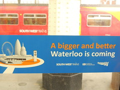'Work to be done' (a sticker inside a South West Trains Class 455 at Waterloo, London)