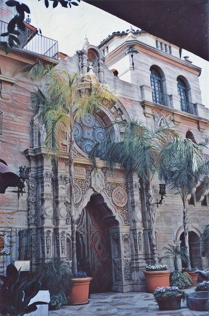 Riverside California ~  Mission Inn Hotel & Spa ~ Historic Building