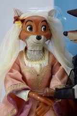 2017 Robin Hood and Maid Marian Designer Doll Set - Disney Store Purchase - Covers Off - Midrange Right Front View of Maid Marian