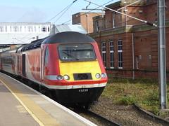 43239 arrives at Berwick-upon-Tweed (18/10/17)