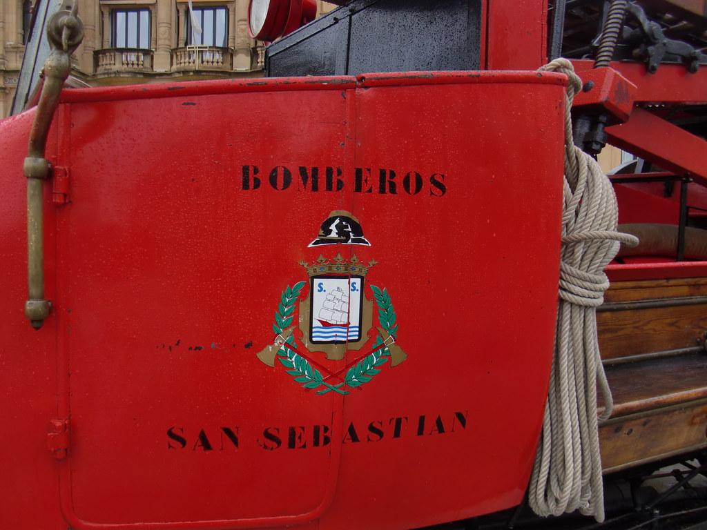 CAMIÓN BOMBEROS SAN SEBASTIAN