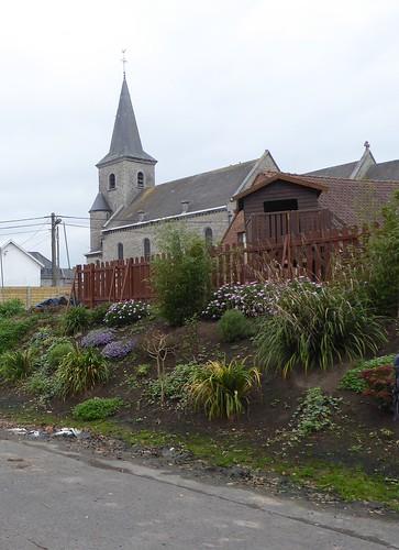 Ere (Belgique), l'église Saint-Amand