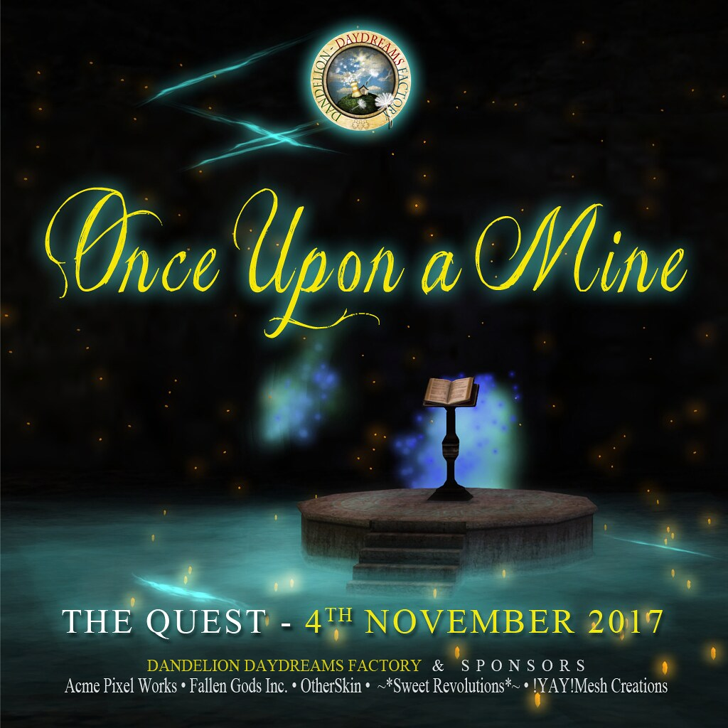 DDDF _ Once Upon a Mine _ Quest Square Poster