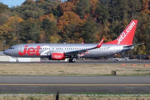 Boeing 737-8MG(WL) Jet2 G-JZBB LN6645