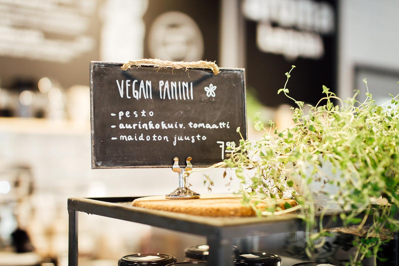 vegan panini resepti