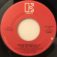 GROVER WASHINGTON JR.:JUST THE TWO OF US(LABEL SIDE-A)