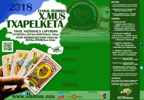 2017-2018 Euskal Herriko X.Mus Txapelketa