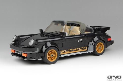 911 Targa Black & Gold
