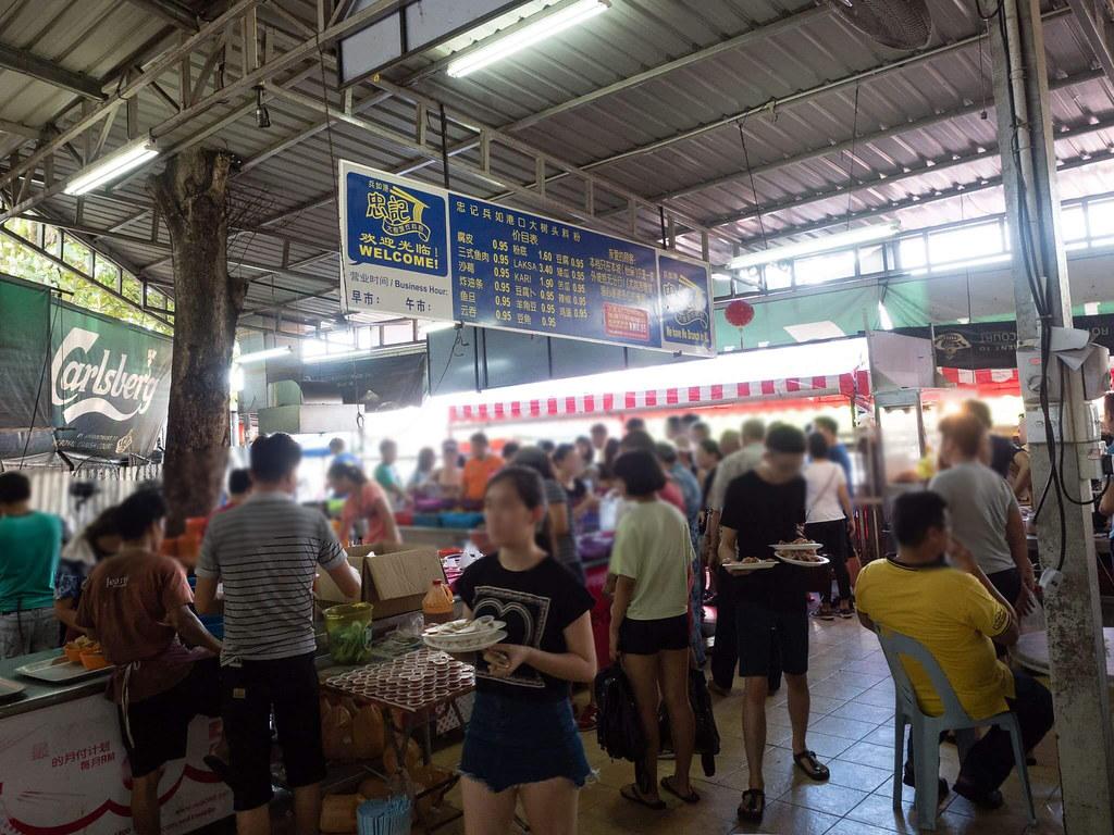So many customers at Dai Shu Geok (Big Tree Foot)