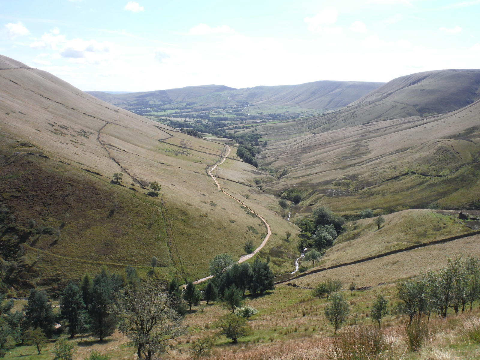Vale of Edale, from Top of Jacob's Ladder SWC Walk 303 - Edale Circular (via Kinder Scout and Mam Tor)