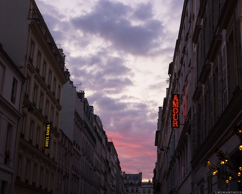 Sunset, Pigalle