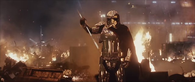 Star Wars The Last Jedi - Capitano Phasma