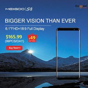 MEIIGOO S8 @ Banggood.com