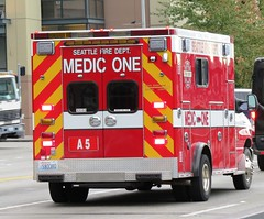 Seattle Fire Department Aid 5