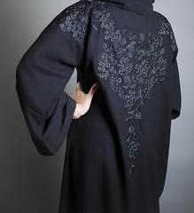 Repost @kaafmeem with @instatoolsapp ・・・ AW1017🍂 Black with Black Embroidery on the back - 750 SAR. ✨ أسود مع تطريز أسود في الظهر- ٧٥٠ رس. ✨✨ . . #subhanabayas #fashionblog #lifestyleblog #beautyblog #dubaiblogger #b
