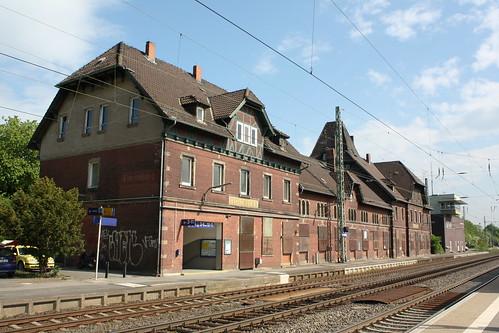 Empfangsgebäude des Bahnhofs Eichenberg