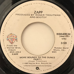 ZAPP:MORE BOUNCE TO THE OUNCE(LABEL SIDE-A)
