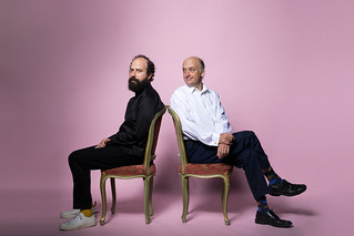 Brett Gelman and Frank Wood