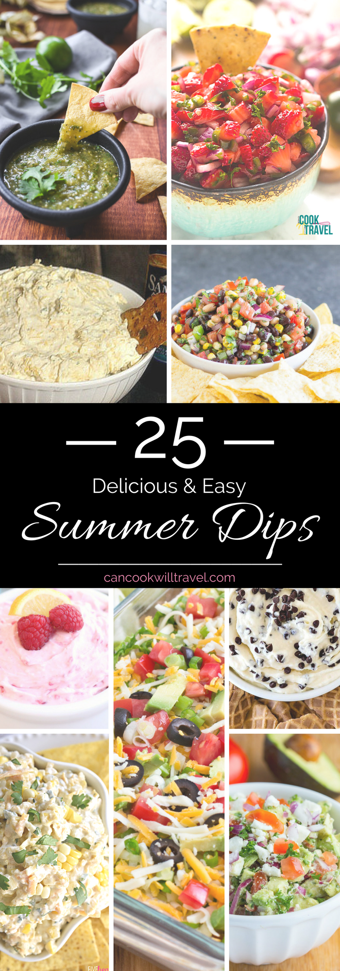 25 Summer Dip Recipes_Tall