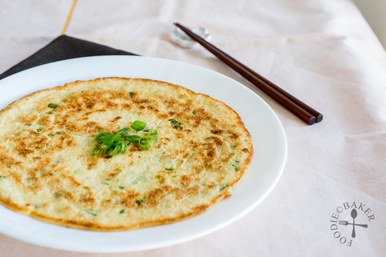 Savoury Okara Pancake