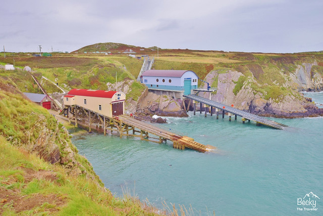 St Justinians Lifeboat Station on Pembrokeshire Coast
