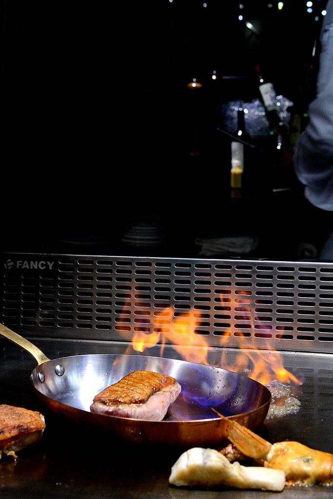 夏慕尼鐵板燒A5日本和牛