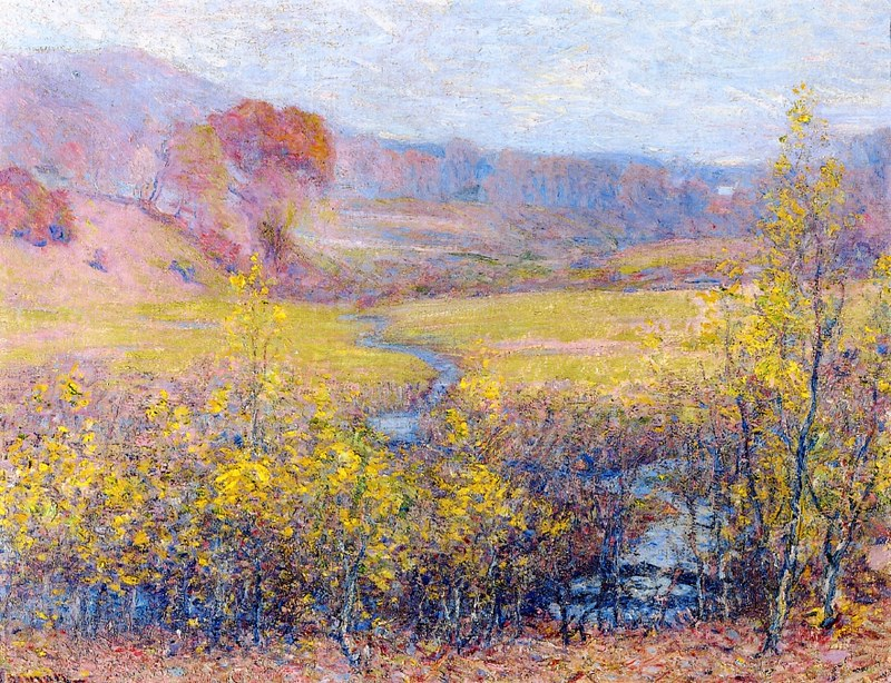 Late Autumn by Robert Vonnoh (1858 - 1933)