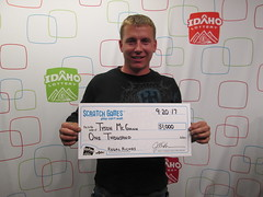 Tyson McGann - $1,000 - Regal Riches - Boise - Stinker Stores