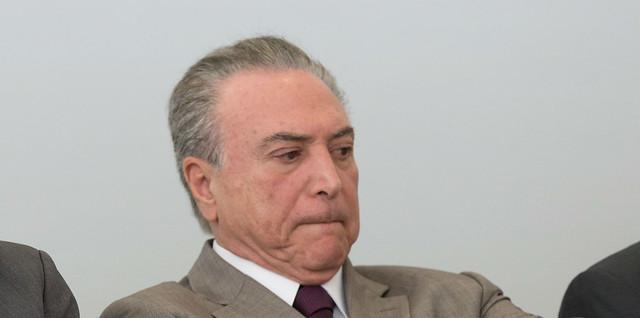Michel Temer durante Cerimônia de Lançamento do Plano PROGREDIR - Créditos: Lula Marques/AGPT