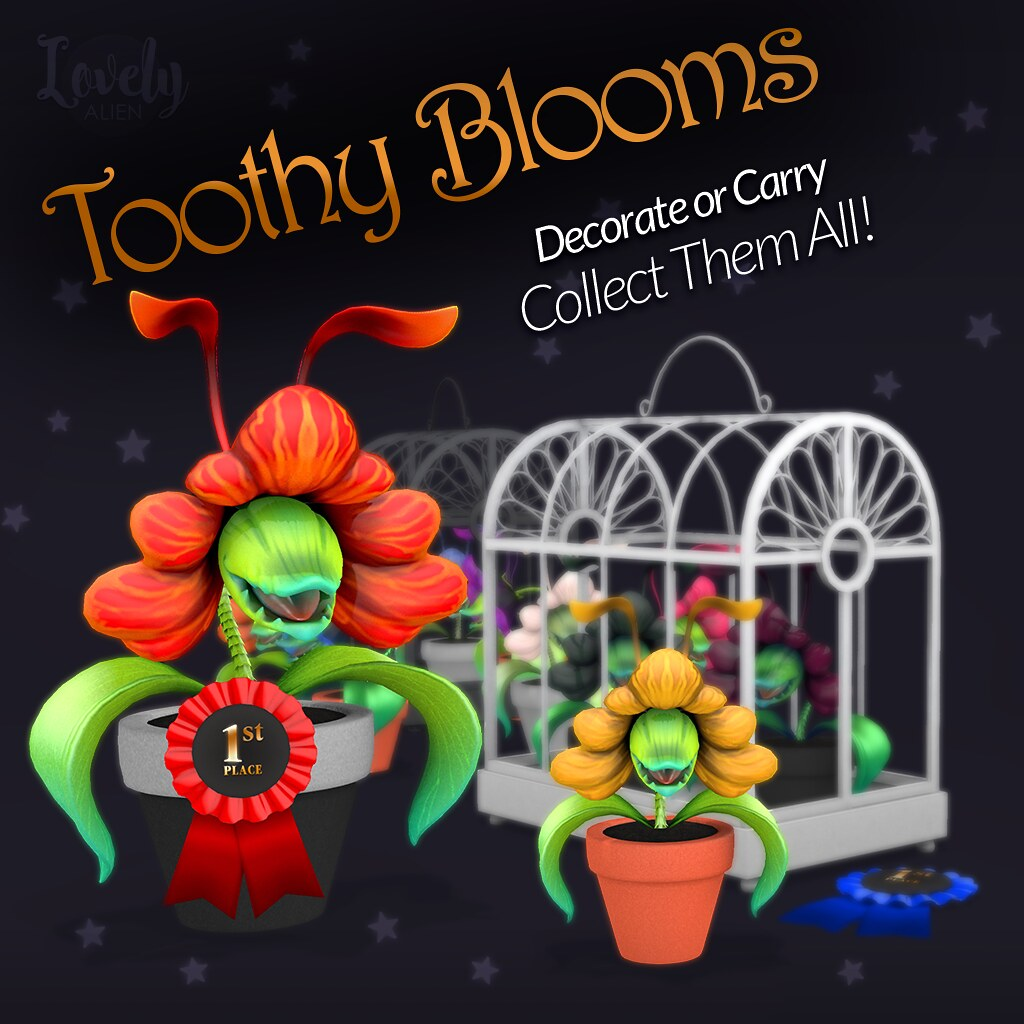 Toothy Blooms For: The Gacha Guardians