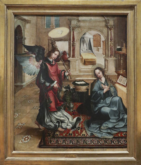 Alterpiece of Santos-o-Novo, 1540-45, Gregorio Lopes