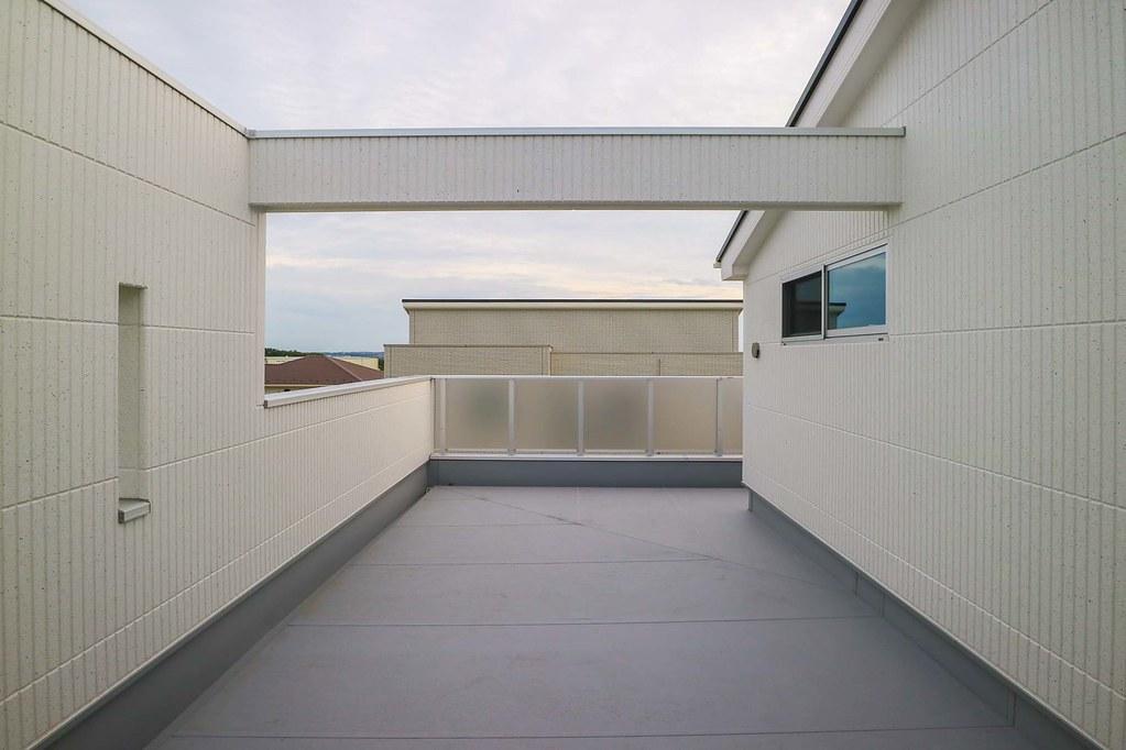 横須賀の新築戸建:バルコニー
