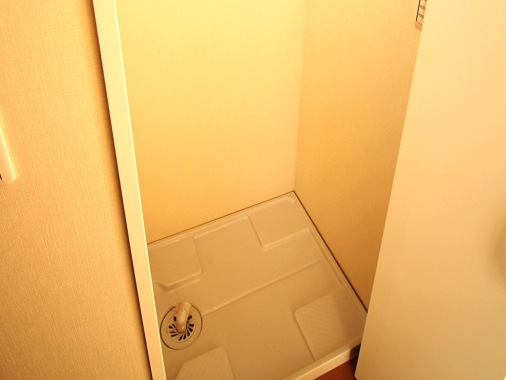 リノベーション後・洗濯機置場は室内に